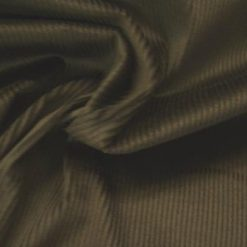 Corduroy Black Cotton Fabric
