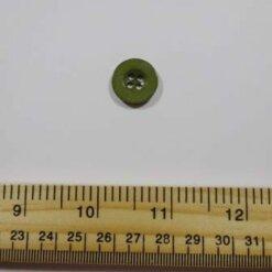 Khaki 1411 Buttons Size 28 Plastic