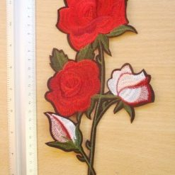 Rose Motif Sew on Shaded Rose