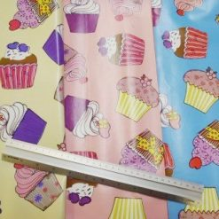 PVC Fabric Tabling Cupcake Heaven