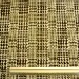 Jersey Fabric Black/White Hounds Tooth