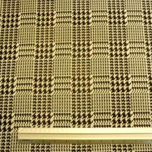 Jersey Fabric Black/White Houndstooth