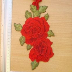 Rose Motif Sew on 3D Rose