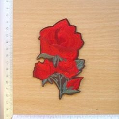 Rose Motif Sew on Small Rose Bunch