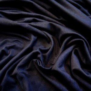 navy viscose jersey t-shirting plain colours
