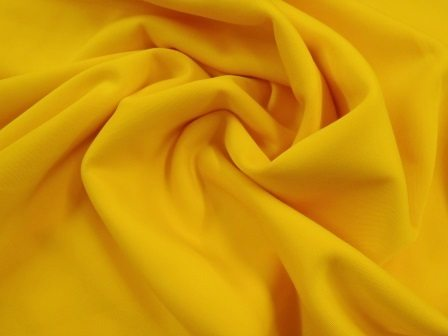 Scuba Fabric Light Weight Jersey yellow