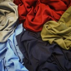 viscose jersey t-shirting plain colours