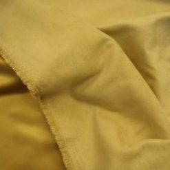 beige Suedette Fabric Soft Touch Satin Backed
