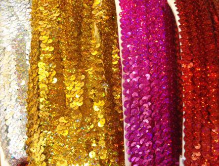 3 row stretch sequins
