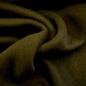 Jersey Fabric Black Heavy Wool Mix