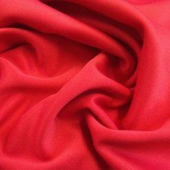 Scuba Jersey Fabric Cerise