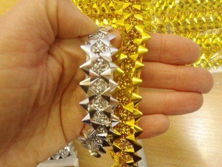 Fancy foil angles trim