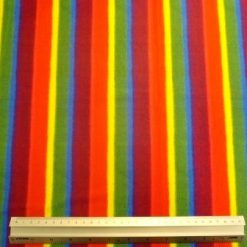 Lycra Patterned Fabric Rainbow