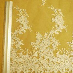 white English rose bridal lace