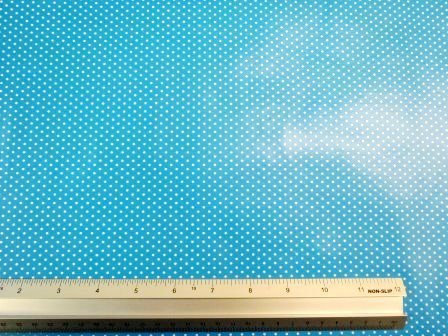turquoise PVC Tabling Fabric Pin spot