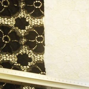 Lace Fabric Heavy Daisy