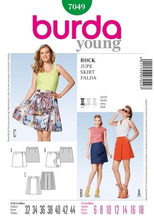 Burda Sewing Pattern 7049 | Fabric Land