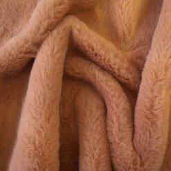 faux fur premier plush blush