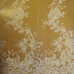 Bridal Lace Fabric English Rose