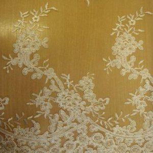 ivory english rose lace