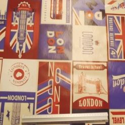 PVC Tabling Fabric Capital Flag Tours