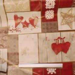 PVC Tabling Fabric Valentine