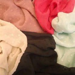 Chiffon Fabric Dobby Dapple