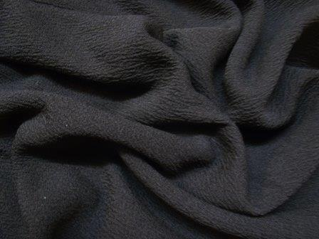 Jersey Fabric Bamboo black