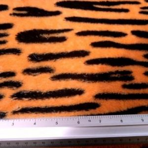 orange tiger polar fleece