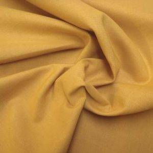 Mustard Suiting Fabric Linen Mix