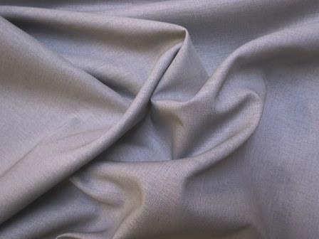 Light Grey Suiting Fabric Linen Mix