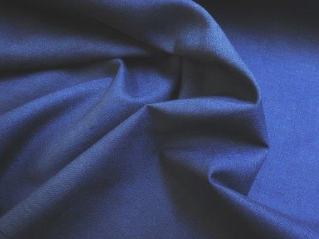 Navy Suiting Fabric Linen Mix
