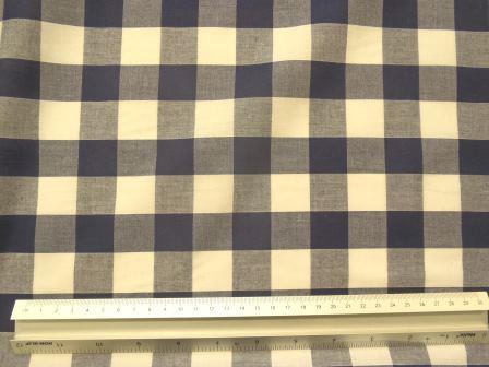 navy 24mm gingham