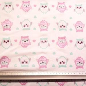 T-Shirting Fabric Candy Owls