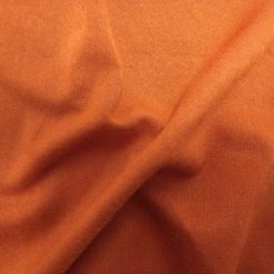 T-Shirting Fabric Plain Jersey rust