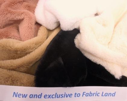 Faux Fur Fabric Premier Plush