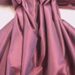 Taffeta Fabric Faux Silk Grape