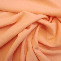 Peach Suiting Fabric Slub Linen Look