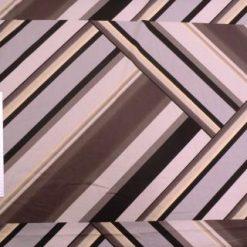 Cotton Spandex Fabric Grey Geometric Urban