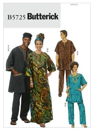 Butterick Sewing Pattern 5725