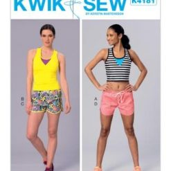 Kwik Sew Sewing Pattern 4181