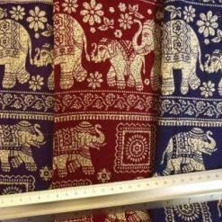 Viscose Print Elephant Mantra