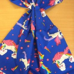 Cotton Fabric Unicorns Extra Large 100% Cotton Royal