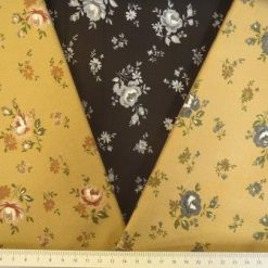 Cotton Fabric Floral Rose Choice