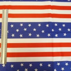 Cotton Fabric Stars And Stripes USA
