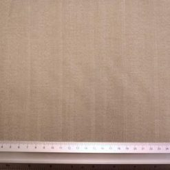 Suiting Fabric Beige Sand Stripe