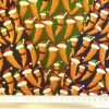 Cotton Fabric Christmas Carrots
