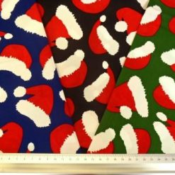 Cotton Fabric Christmas Hats