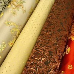 Brocade Patterned Fabric