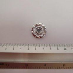 Sarah button silver
